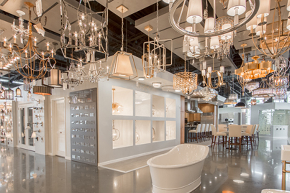 Ferguson opens new showrooms lighting decor mag Bathroom design showrooms houston