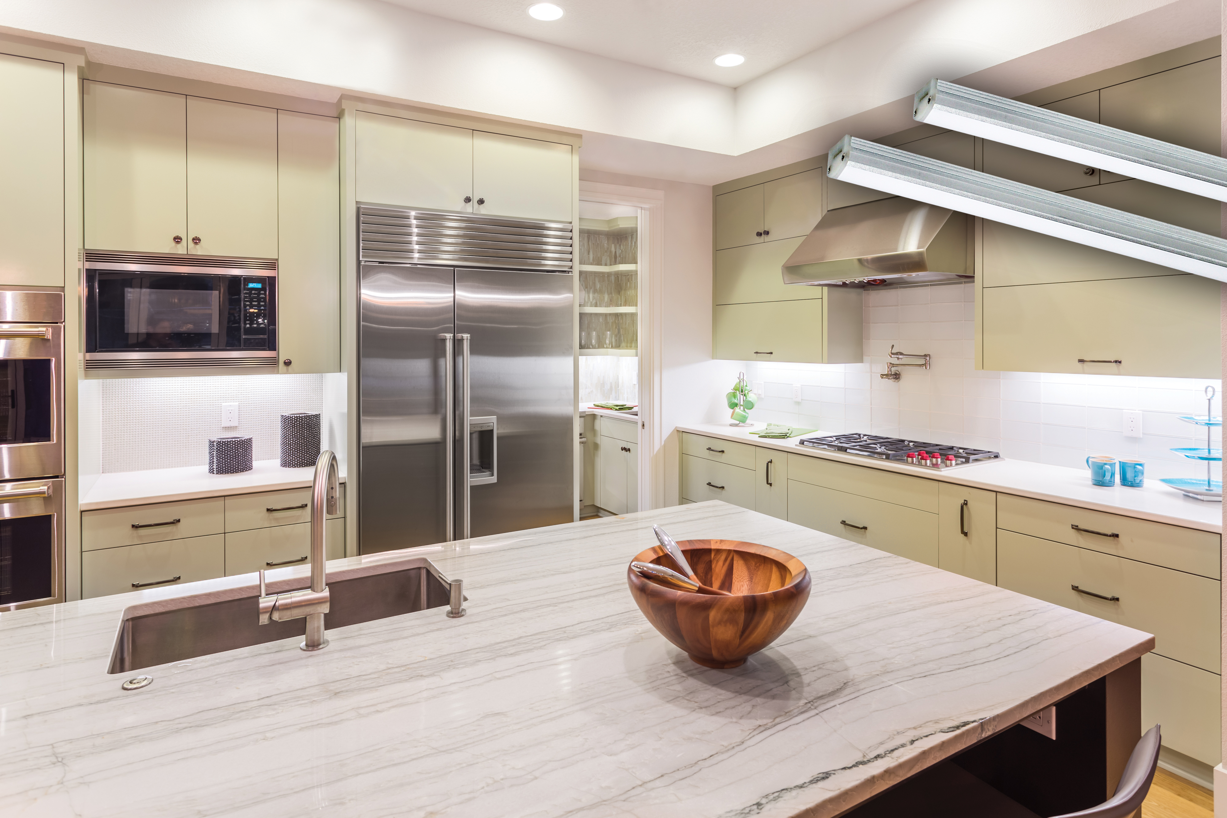 Best under cabinet lighting - Q What Is The Best Way To Avoid Glare On A Granite Counter When Using Under Cabinet Lighting