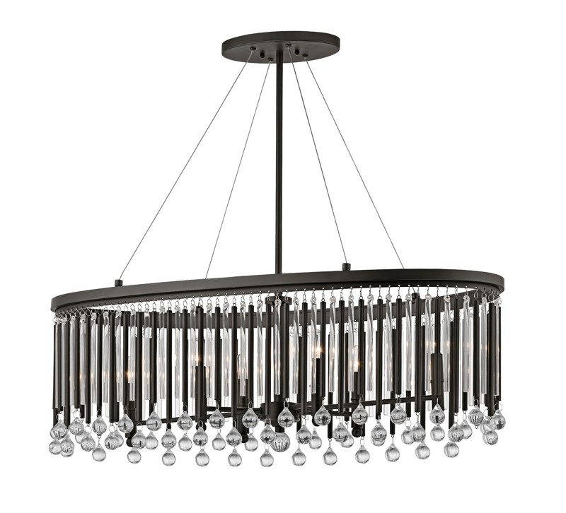 Piper Oval Chandelier : Lighting u0026 Decor Mag