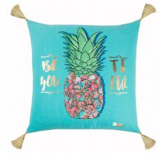 Rizzy Home Simply Southern Pineapple Pillow