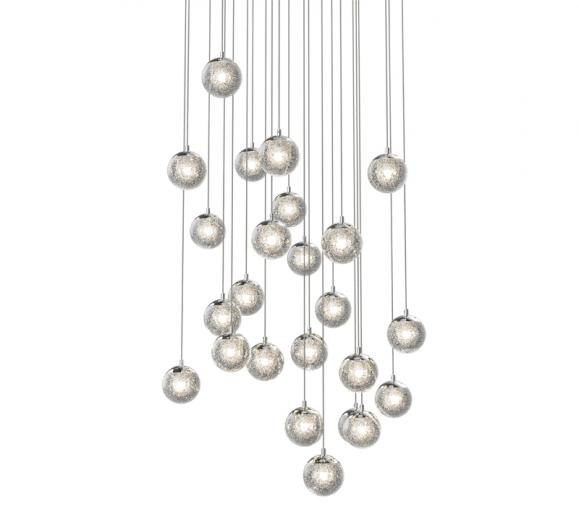 Sonneman-Champagne-Bubbles-LED-Pendants